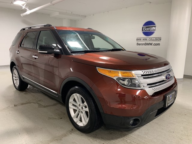 Pre-Owned 2015 Ford Explorer XLT - REAR CAMERA - HEATED SEATS