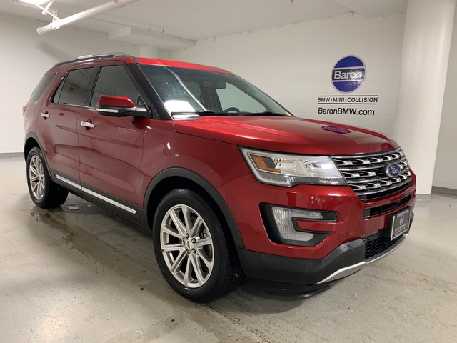 Pre-Owned 2016 Ford Explorer Limited - NAV - REAR CAMERA - HEATED SEATS - DUAL MOONROOF - 3RD ROW