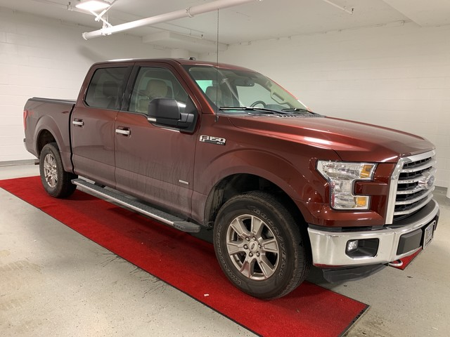 Pre-Owned 2016 Ford F-150 XLT - RUNNING BOARDS!! - LEATHER!! - REAR CAMERA!!