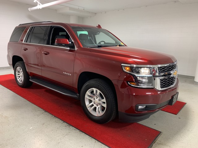 Pre-Owned 2018 Chevrolet Tahoe LT - CAPTAINS!! - HEATED SEATS!! - REAR DVD!! - NAV!! - REAR CAMERA!! - HEAD-UP DISPLAY!! - TOW PACK!!