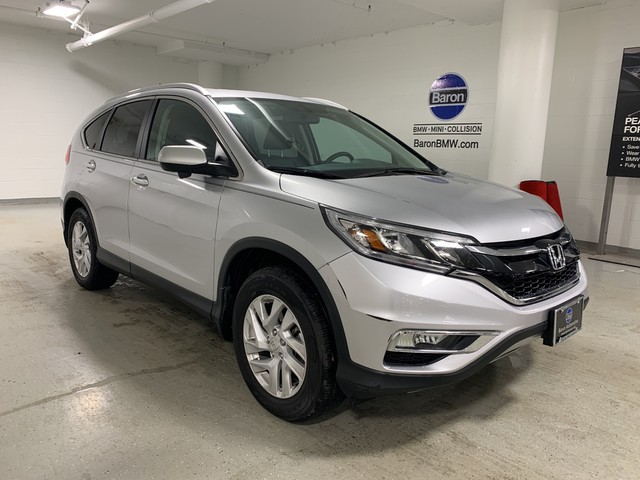 Pre-Owned 2015 Honda CR-V EX-L - REAR CAMERA - MOONROOF - LEATHER