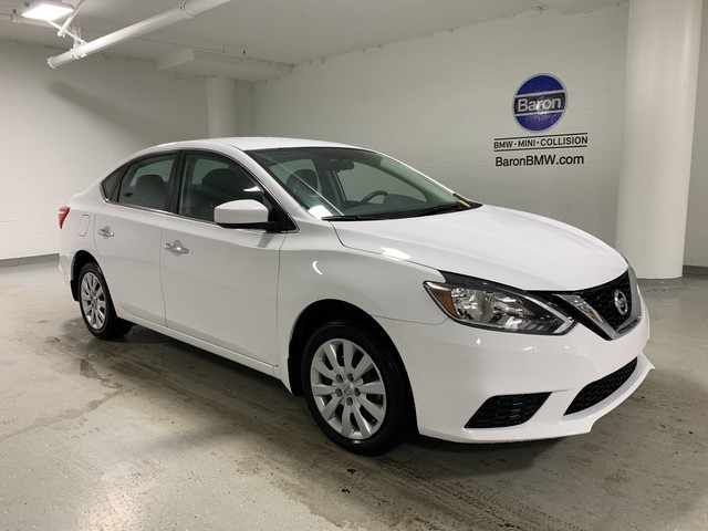Pre-Owned 2019 Nissan Sentra S - REAR CAMERA - MANUAL