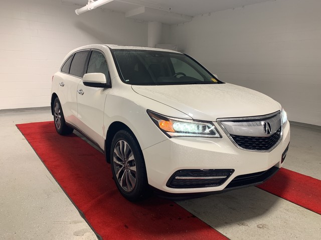 Pre-Owned 2016 Acura MDX w/Tech - NAV!! - REAR CAMERA!! - MOONROOF!! - HEATED SEATS!! - BLIND SPOT MONITOR!!