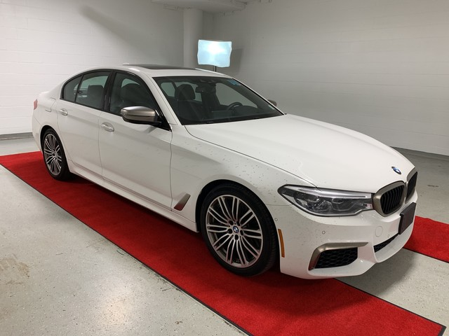 Pre-Owned 2018 BMW M550i xDrive - DRIVER ASSIST!! - EXECUTIVE!! - MULTI-CONTOUR SEATS!! - COLD WEATHER PACK!!