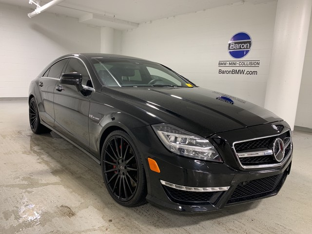 Pre-Owned 2013 Mercedes-Benz CLS 63 AMG® - NAV - REAR CAMERA - HEATED SEATS - MOONROOF