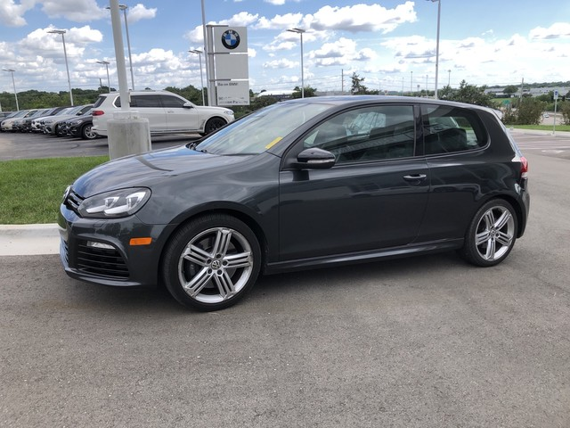 Pre-Owned 2012 Volkswagen Golf R w/Sunroof & Navi