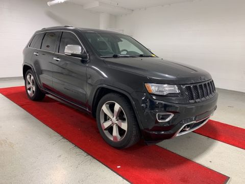 Pre-Owned 2014 Jeep Grand Cherokee Overland - NAV!! - REAR CAMERA!! - HEATED SEATS!! - PANO MOONROOF!!