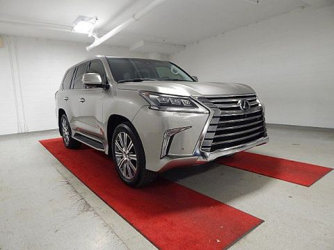 Pre-Owned 2017 Lexus LX 570 - NAV!! - REAR CAMERA!! - HEATED SEATS!! - MOONROOF!! - REAR DVD!!